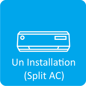 Uninstallation (Split AC)